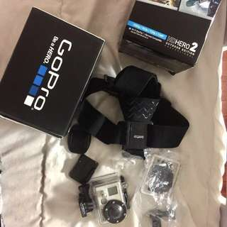 GoPro Hero 2 HD (Authentic US Bought)
