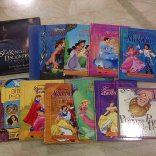 Free delivery of 10+1 Children's story books: Disney Classics and other classics