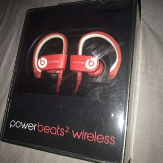 SEALED Powerbeats Wireless