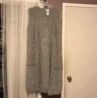 Long wool Cardi