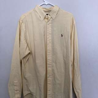 Bootleg Polo Ralph Lauren Colour Pony Dress Shirt - Size 17 Classic Fit