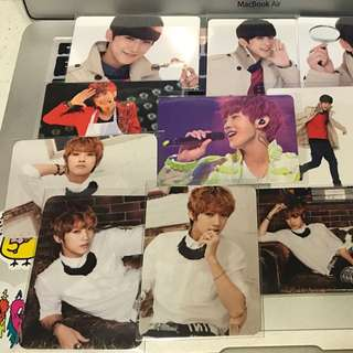 [INSTOCK] B1A4 Jinyoung Japan Trading Photocards Set