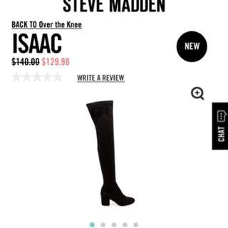 Steve Madden Isaac Over the Knee Boots Size 7