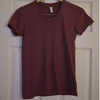 "American Apparel ""The Track Shirt"", size S"