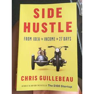 Looking for book: Side Hustle by Chris Guillebeau