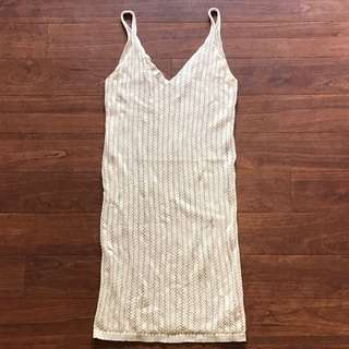Brand New Supré Nude Crochet Knit Dress Size XS