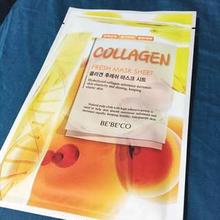 Be'Be'CO Collagen Mask