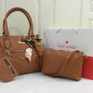 Kate Spade 3-in-1 Bag Set
