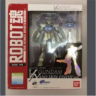 99%新 BANDAI Robot 魂 Turn A Gundam - Nano Skin Finish Ver. + 日版 BANDAI 魂 限定 Robot 魂 Turn A Gundam 用武器set