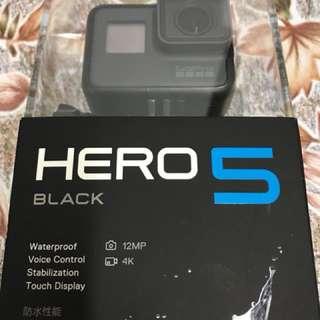 9月買用2次 GoPro Hero5 運動攝影機