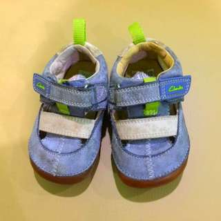 Authentic Clark's Baby First Shoes