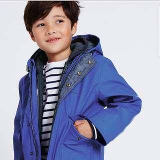 3 in 1 fisherman coat (M&S) with stormwear