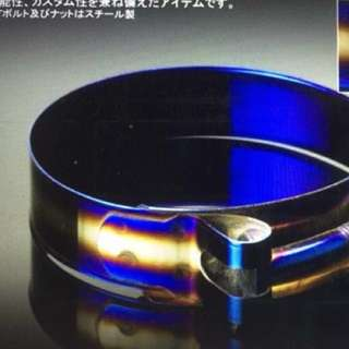 Titanium baked color T bolt clamp
