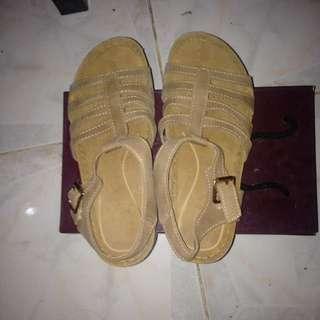 Lowest price Parisian Sandals Tan color
