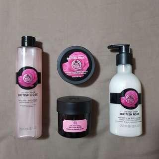 Body Shop British Rose set