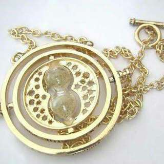 Time turner Necklace as seen from Harry Potter Movies.