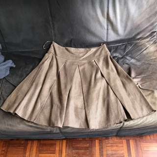 DKNY Brown Skirt