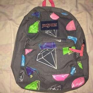 diamond jansport backpack