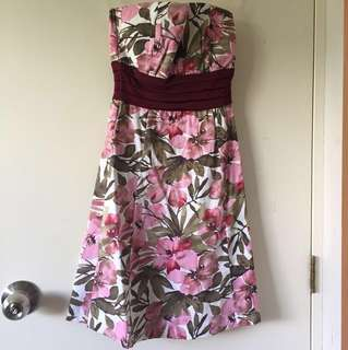 Pagani Semi-Formal Floral Dress