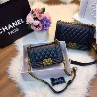 Chanel boy size 20 and size 25