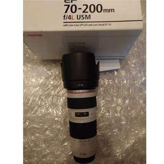 Canon 70-200mm F4 USM (水)