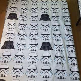 Darth Vader and stormtrooper Blanket
