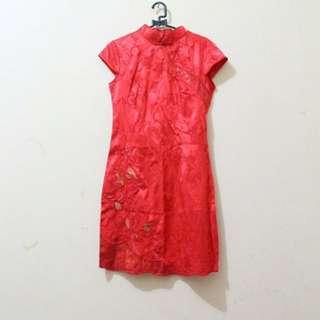 CHEONGSAM DRESS / BAJU IMLEK