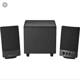 Altec Lansing BXR1121 Stereo Speaker System