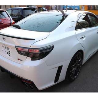 TOYOTA MARK X GRMN  Month / Year:08.2015  Color:PEARL  Mileage:9,800 km Displacement:3.5L  Steering:Right  Transmission:MT  Fuel:GASOLINE  Drive:2WD  Doors:4D