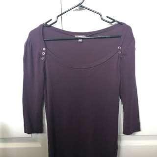Purple 3/4 Sleeve