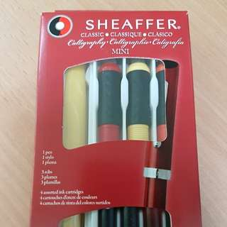Sheaffer calligraphy mini kit fountain pen
