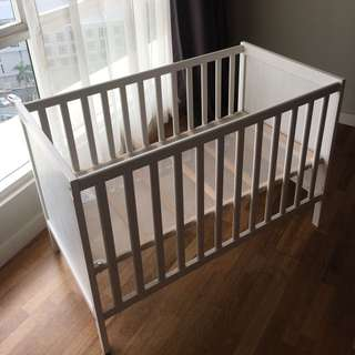 Baby cot ikea (SUNDVIK) 60x120cm