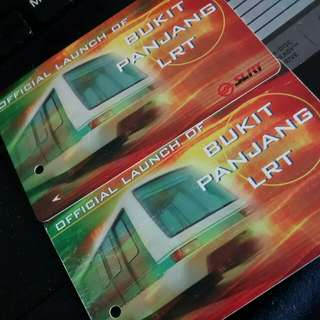 Old MRT cards
