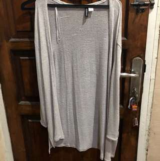 Cardigan panjang H&M size XS ( fit to L )