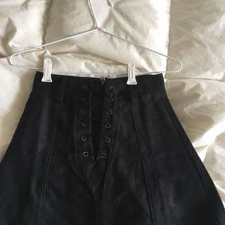 Princess Polly black skirt