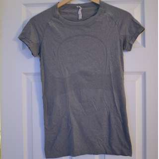 "Lululemon ""Swiftly"" tee, size 6"