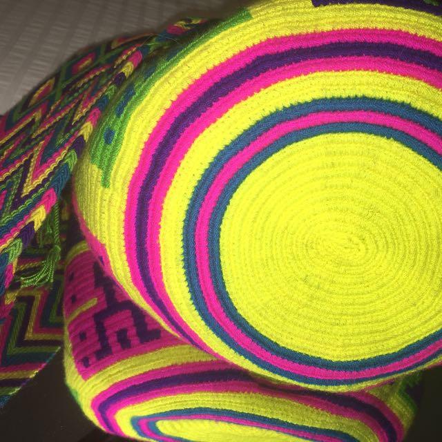 100% Authentic Large Mochila Bag