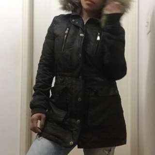 Ladies' BCBG winter/fall jacket- size small - army green
