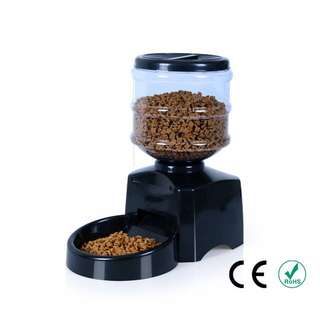 <INSTOCKS> 5 Litre Automated Pet Feeding Machine For Dogs Cats Rabbits