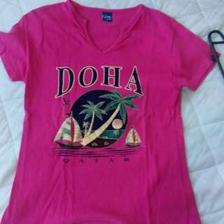 Doha T-shirt Small