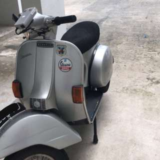 Vespa PX150 AU plate