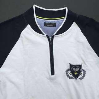 Zara Man Zip-Up Shirt