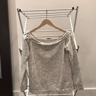 Club Monaco small off the shoulder