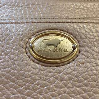 Braun Buffel authentic leather clutch