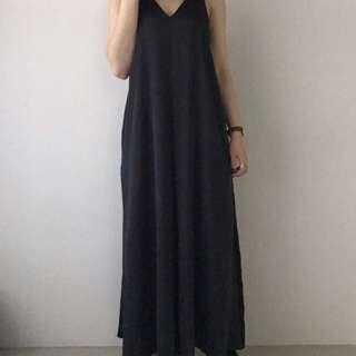 全新正韓dogoose購買連身褲裙 寬鬆 one size (studio doe, nude)