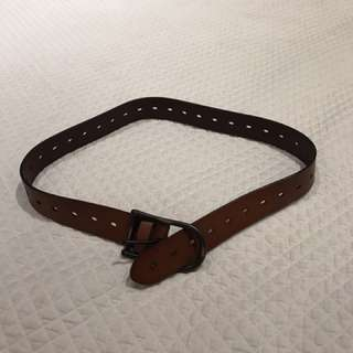 Aritzia leather belt