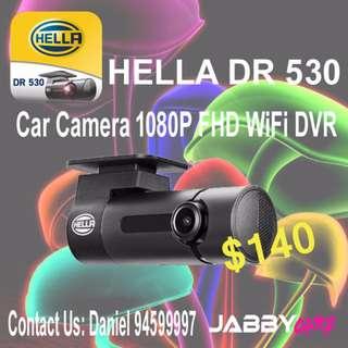 HELLA DR 530 Car Camera 1080P FHD WiFi DVR