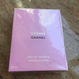 Chanel chance perfume toilette