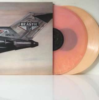 Beastie Boys ‎– Licensed To Ill (2013 Italy Limited Edition Pink/Peach Marbled Vinyl 2LP - Mint)