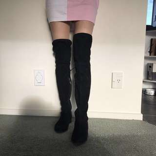 Pulp thigh high boots. Size 36